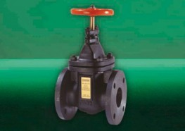 Crane cast iron gate valves offer the ultimate in dependable service wherever minimum pressure drop is important....