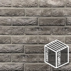 Atom Grey Brick Slips Tile - BrickSlips