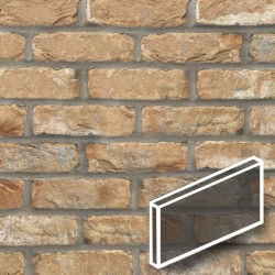 Cotswold Buff Brick Slips Tile image