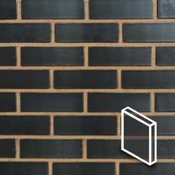 Onyx Black Brick Slips Render - BrickSlips