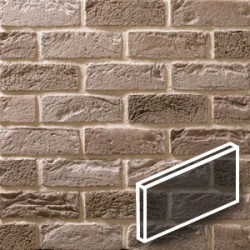 Silver Grey Brick Slips Tile image