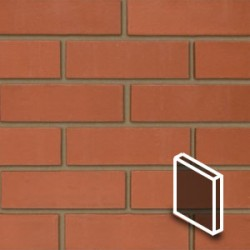 Smooth Red Brick Slips Render Tile - BrickSlips