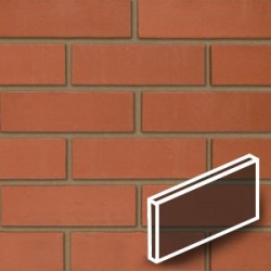 Smooth Red Brick Slips Render Tile image