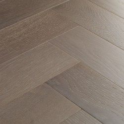Herringbone Engineered Wood Flooring Goodrich Feather Oak image