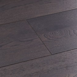 Dark Grey Engineered Wood Flooring Harlech Twilight Oak image