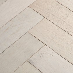 Herringbone Engineered Wood Flooring Goodrich Cotton Oak image