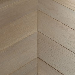 Chevron Engineered Wood Flooring Goodrich Haze Oak image
