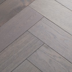 Herringbone Engineered Wood Flooring Goodrich Ash Oak image