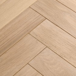Herringbone Engineered Wood Flooring Goodrich Ecru Oak image