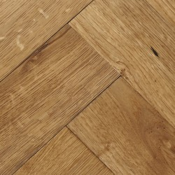 Herringbone Engineered Wood Flooring Goodrich Natural Oak image