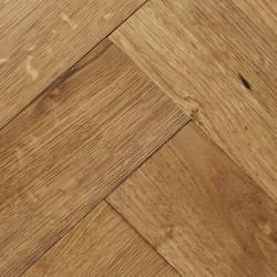 Herringbone Engineered Wood Flooring Goodrich Natural Oak - Woodpecker Flooring