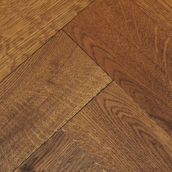 Herringbone Engineered Wood Flooring Goodrich Coffee Oak image