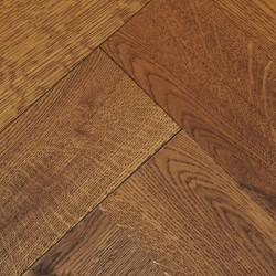 Herringbone Engineered Wood Flooring Goodrich Coffee Oak image