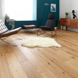 Engineered Wood Flooring Chepstow Rustic Oak Unfinished - Woodpecker Flooring
