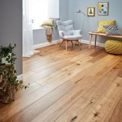 Engineered Wood Flooring Harlech Smoked Oak - Woodpecker Flooring