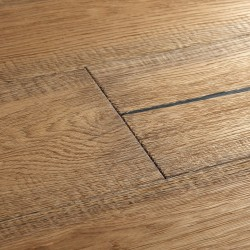 Distressed Engineered Wood Flooring Berkeley Cottage Oak image