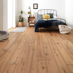 Distressed Engineered Wood Flooring Berkeley Cottage Oak - Woodpecker Flooring