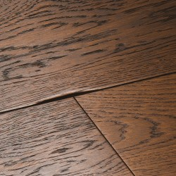 Engineered Wood Flooring Chepstow Distressed Charcoal Oak image