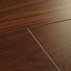 Dark Engineered Wood Flooring Harlech Walnut image