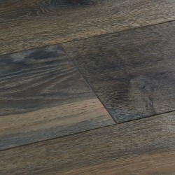 Grey Engineered Wood Flooring Harlech Stormy Oak image