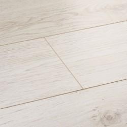 White Laminate Flooring Wembury Linen Oak image