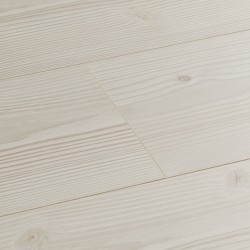 White Laminate Flooring Wembury Polar Pine image