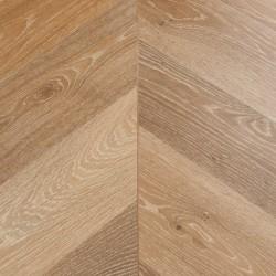 Chevron Laminate Flooring Wembury Honey Oak image