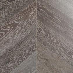 Grey Chevron Laminate Flooring Wembury Dusky Oak image