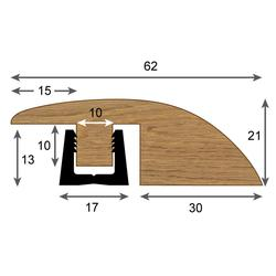 Contour Ramp Profile - Woodpecker Flooring