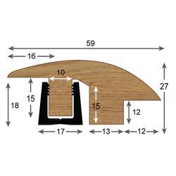 Contour Semi-ramp Profile - Woodpecker Flooring