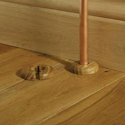 Solid Wood Pipe Covers image