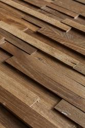 Reclaimed wood is not only for floors. We have been experimenting and are delighted to present you with the Reclaimed Engineered Oak Strip Cladding which will give your walls a sophisticated feeling of luxury. This product can be used for either domestic or co...