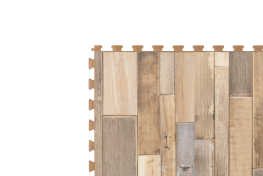 Design Tile - Scrapwood Dark - R-Tek Manufacturing Ltd