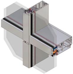 AA®201 Unitised Curtain Wall - Kawneer