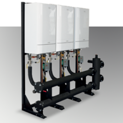 The Frame and Header Kits are suitable for modular (cascade) boiler installations, and are available up to a maximum output of 600 kW, in both in-line and back-to-back arrangements....
