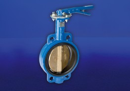 Semi-Lugged Wafer Pattern Butterfly Valve. Ductile Iron Body. Aluminum Bronze Disc. Liner bonded to steel backing ring. High strength, low friction bearings form upper and lower shafts, to restrain shaft deflection and ensure effective stem sealing....