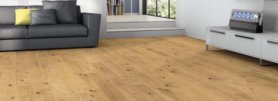 HARO PARQUET 4000 Plank 1-Strip Scala 2V Oak Sauvage brushed