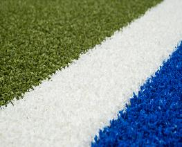 With Poligras Mega CoolPlus, Polytan has developed a fully synthetic turf system that meets all the requirements of a professional hockey pitch. It provides a dense and even surface which means that ball rolling behaviour is not distorted by directional factor...