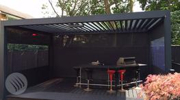 by Caribbean Blinds UK. u2039 u203a & Outdoor Living Pod Louvered Roof Patio Canopy by Caribbean Blinds UK