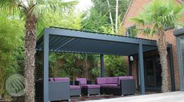 Outdoor Living Pod, Louvered Roof, Patio Canopy image