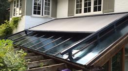 Conservatory Roof Blinds, Skylight Blinds, External Roof Blinds image