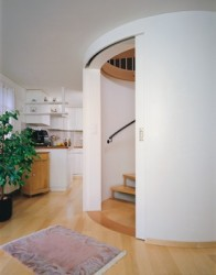 Hawa Media 70 Sliding System for Curved Doors image