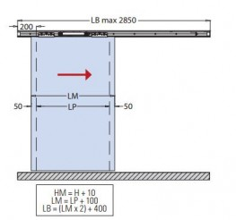 Magneto Low Energy Automatic Sliding Door System for Glass and Timber Doors - Lord Lionel