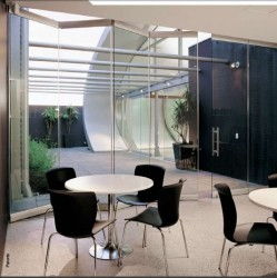 Hawa Variofold 80/GV Frameless Glass Folding Wall System image