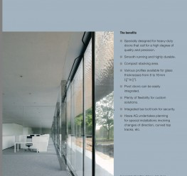 Hawa Shopfront 400/G  for Large Glass Movable Walls - Lord Lionel