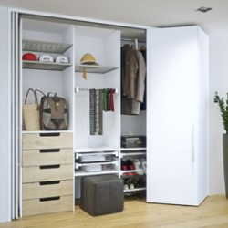Hawa Folding Concepta 25 for Bi-Folding Cabinet Doors image