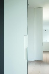 "Xinnix creates door systems which allow the integration of every door in every wall, in a ""frameless"" way. With a frameless door system, the door leaf and the wall melt into each other.  Painted in the same colour of the wall, you get a discrete timeless f..."