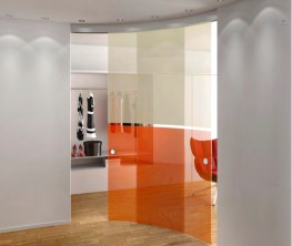 Casali Glass Curved Sliding Door Systems. By Lord Lionel. U2039 U203a