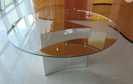 Dioniso All Glass Dining Table by Casali Glass Italy image