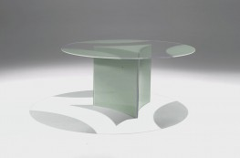 Dioniso All Glass Dining Table by Casali Glass Italy - Lord Lionel